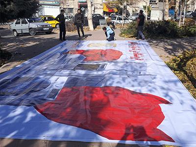 نصب بنر بیلبورد های تبلیغاتی کرج قزوین تهران